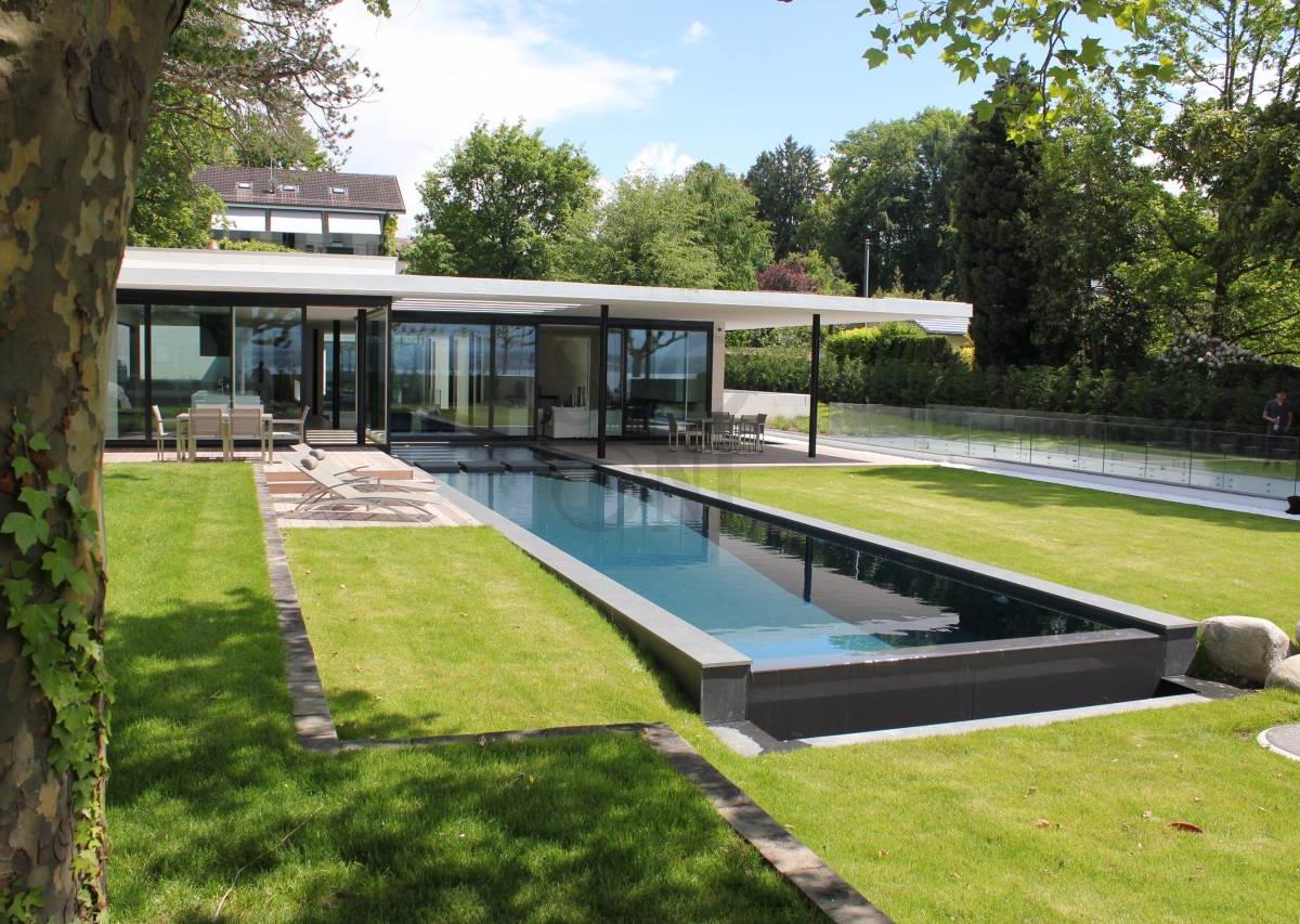 Modern waterfront villa