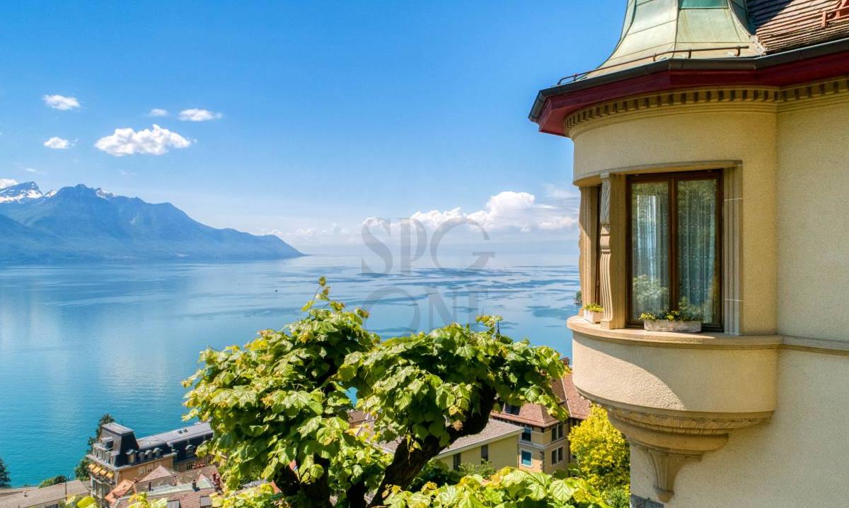 Maison de Maître avec magnifique vue lac