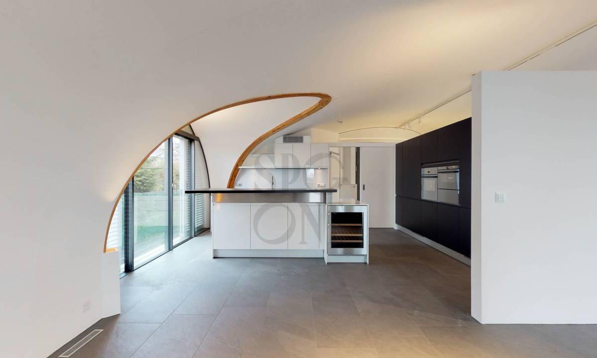 Superbe attique contemporain