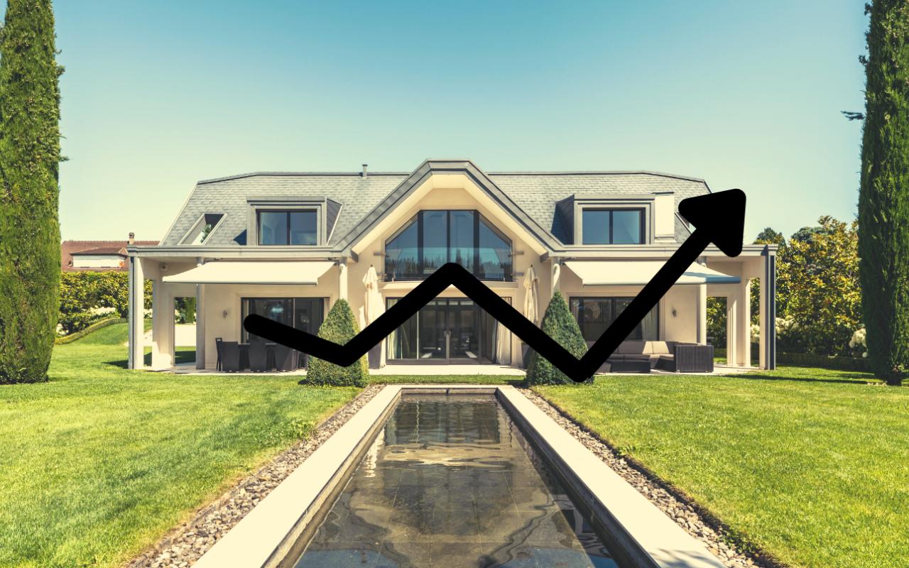 Premier semestre 2021 remarquable pour l'immobilier de prestige à Genève, sur la Riviera Vaudoise et dans les Alpes Suisses